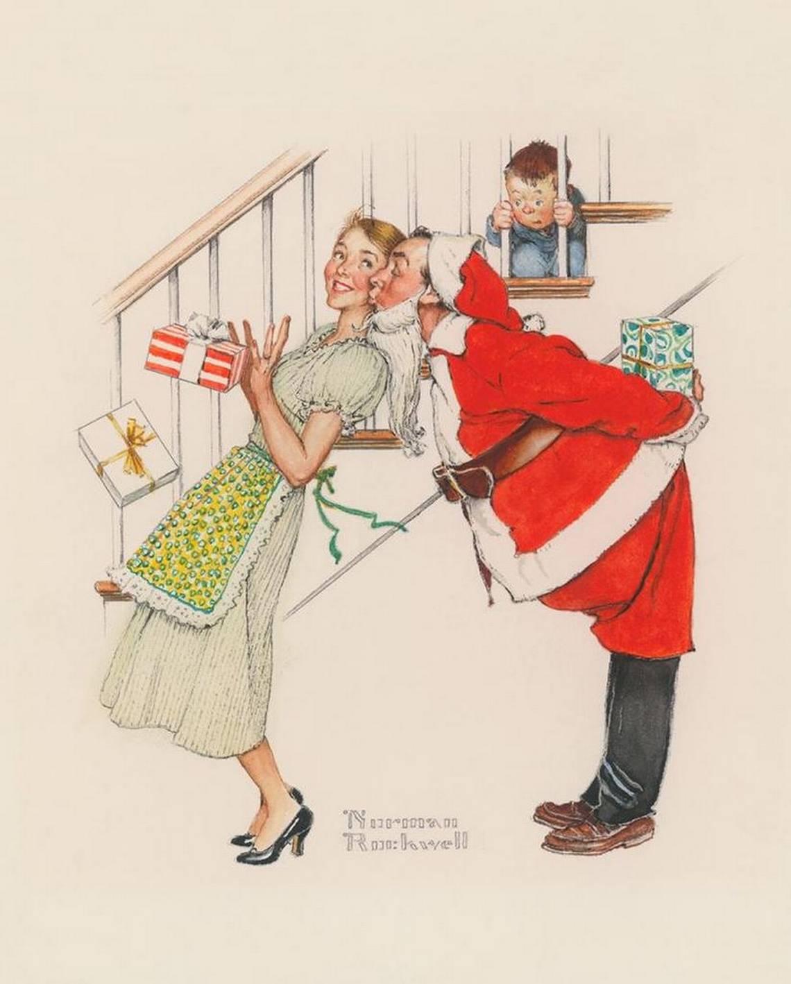 Humorous Rockwell Christmas