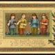 1880s Louis Prang Christmas Card