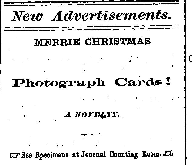 Christmas Photograph Cards