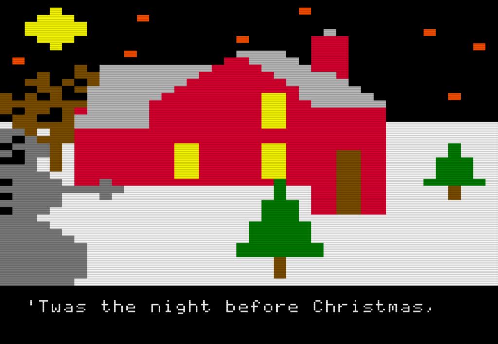 Computer Christmas Cards