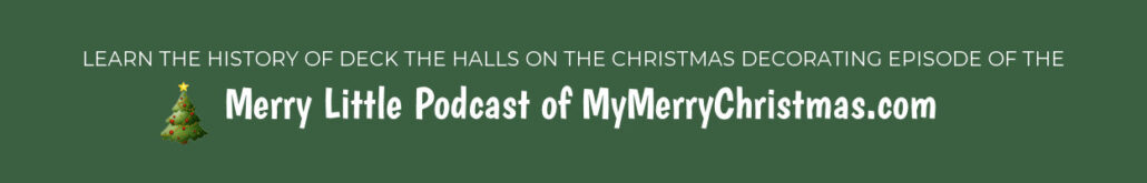 Christmas Decorating Episode of the Merry Little Podcast