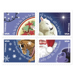 Christmas Stamps - Christmas Carols 2017