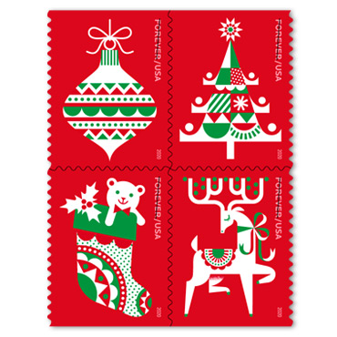 Christmas Stamps - Holiday Delights