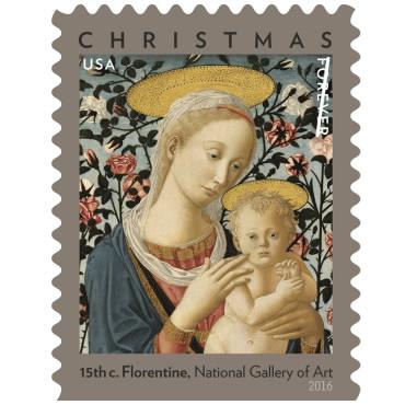 Christmas Stamps - Madonna