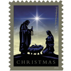 Christmas Stamps - Holy Family